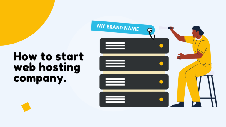 How to start your own hosting company?