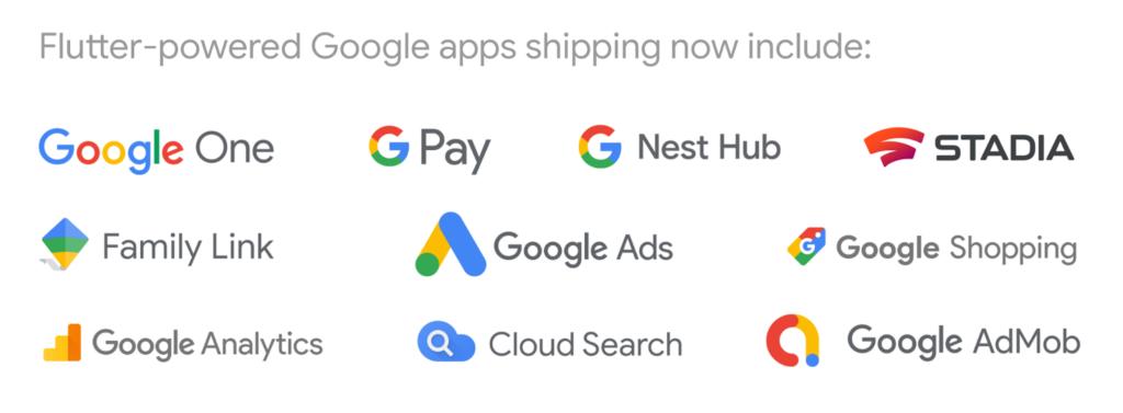 Flutter Powered Google Apps